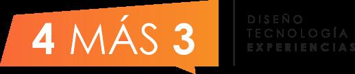 4 más 3